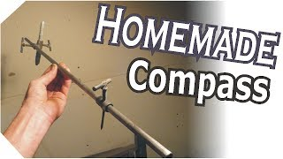 Making A Steel Homemade Compass Tool