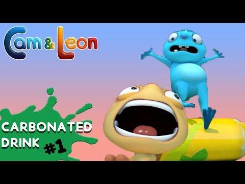 Hilarious Children Cartoon | Carbonated Drink | Cam & Leon