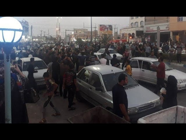 KHUZESTAN, Iran, June 29, 2018. Protests in Different Cities in Support of Khorramshahr Uprising
