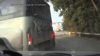 Accident on slippery road RUSSIA! Kia авария