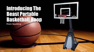 Ultimate Spalding The Beast Portable Basketball Hoop Review