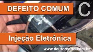 Dr CARRO INJEÇÃO ELETRÔNICA Defeito Comum