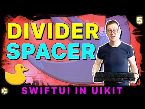 SwiftUI in UIKit - Divider and Spacer | Swift 5, Xcode 10 thumbnail