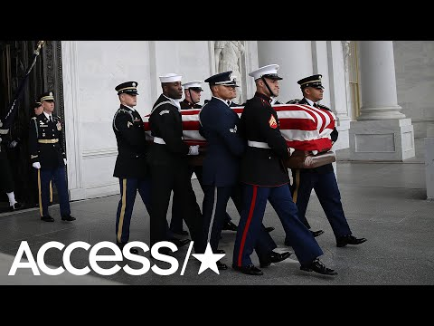 President George H.W. Bushs Funeral: The Most Touching Moments | Access