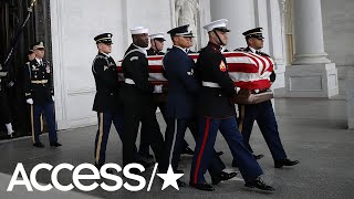 President George H.W. Bush's Funeral: The Most Touching Moments | Access