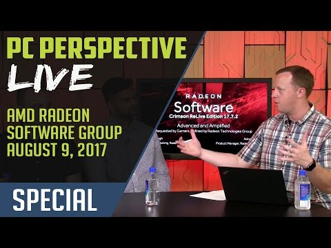 PCPer Live! AMD Talks New Radeon Software Features