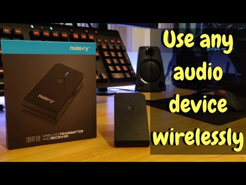 Nulaxy BR18 Wireless Bluetooth Transmitter and Receiver