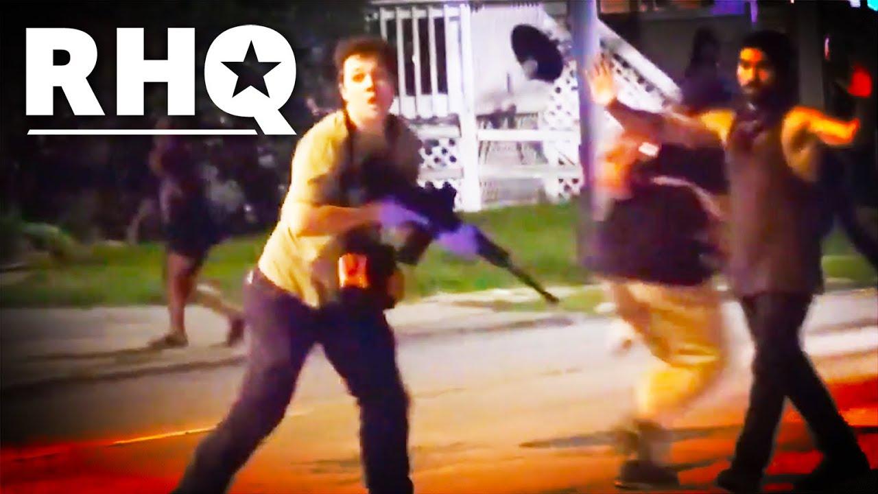 White Militia KILLS Two Black Lives Matter Protesters