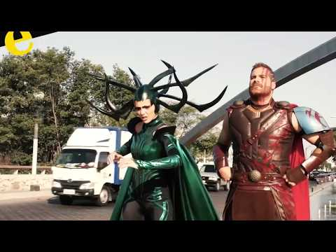 'Thor' en las calles de Guayaquil