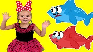 Baby Shark Kids Song - Nursery Rhymes for Babies and Toddlers | Sweet Emily