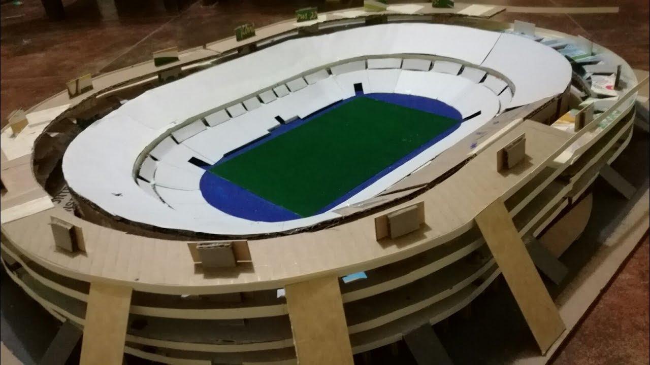 Como hacer un estadio de f tbol stade de france for Como hacer gradas