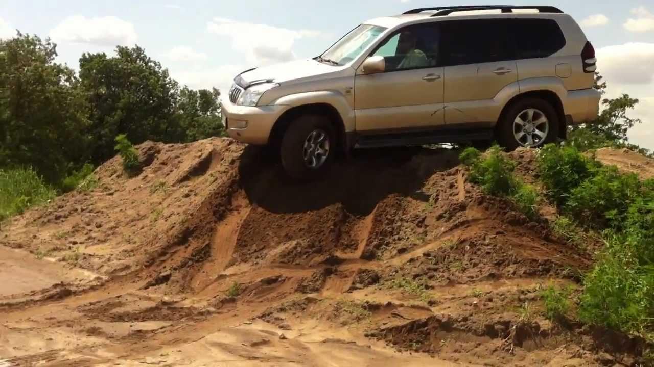 Toyota Land Cruiser 120 Off Road Rastor Youtube