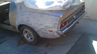 1973 ford mustang mach 1 351 cleveland q code cammed idle