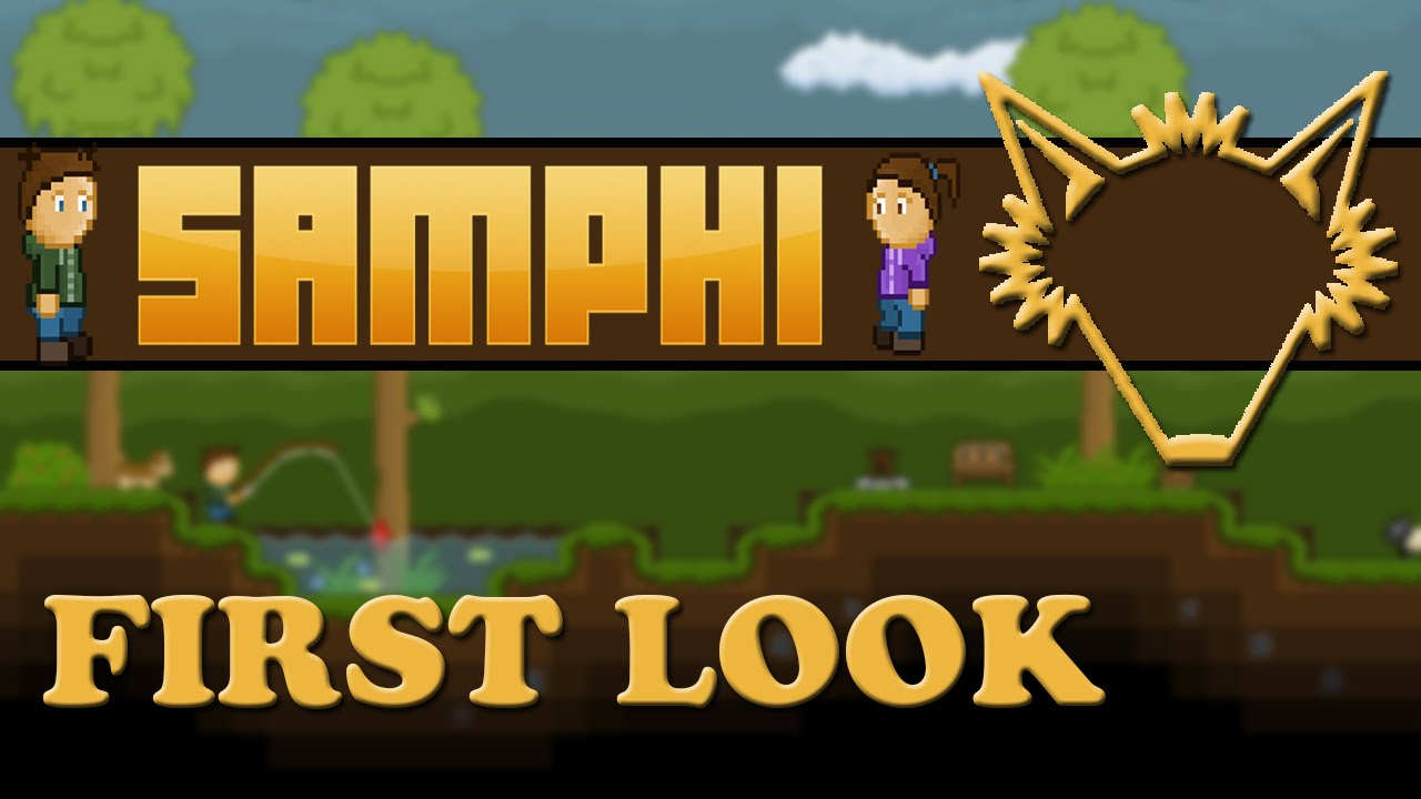 Samphi | First Look | A Randomly Generated Survival World Management Game |  Gameplay Let's Play