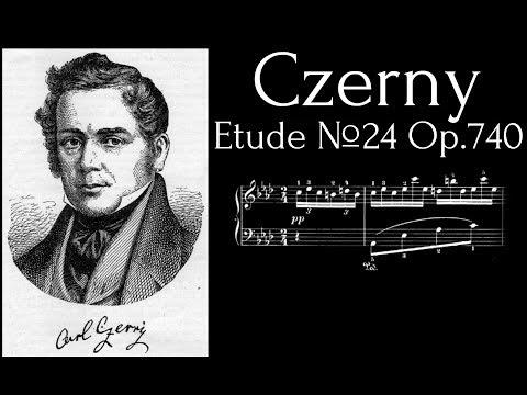 Carl Czerny - Etude №24 in A flat major Op.740