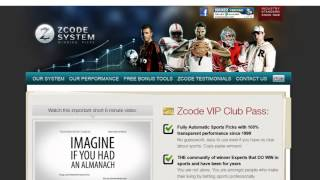 Sports betting system & free sports predictions| Z Code Automated Sport Betting software!