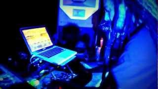 """Bong-Ra - """"Raining Blood"""" (Slayer remake / rmx) live @ Tundra 2012, Lithuania"""