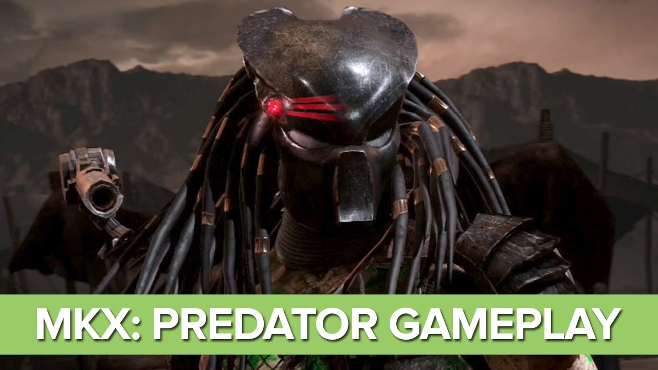 Mortal Kombat X Predator Gameplay Predator Gameplay Xbox One