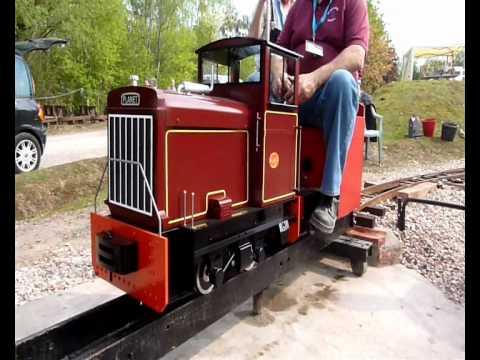 Maxitrak Planet 2 7 1 4 Quot Gauge Model Locomotive Youtube