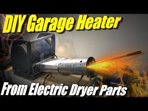 DIY Garage Heater: Using Parts from an Electric Dryer