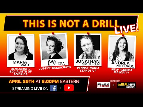 This is Not a Drill: LIVE, April 29