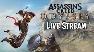 Assassin's Creed Odyssey • Level 22+ Questing • Live Stream