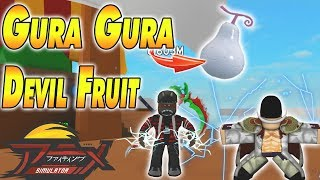 Today we showcase the tremor-tremor (gura gura) devil fruit and its moveset as well last gura strength skill move let me know if you guys would like t...