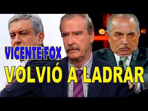 Vicente Fox enojado, asegura que Amlo nos va a llevar al baile y que es un corrupto