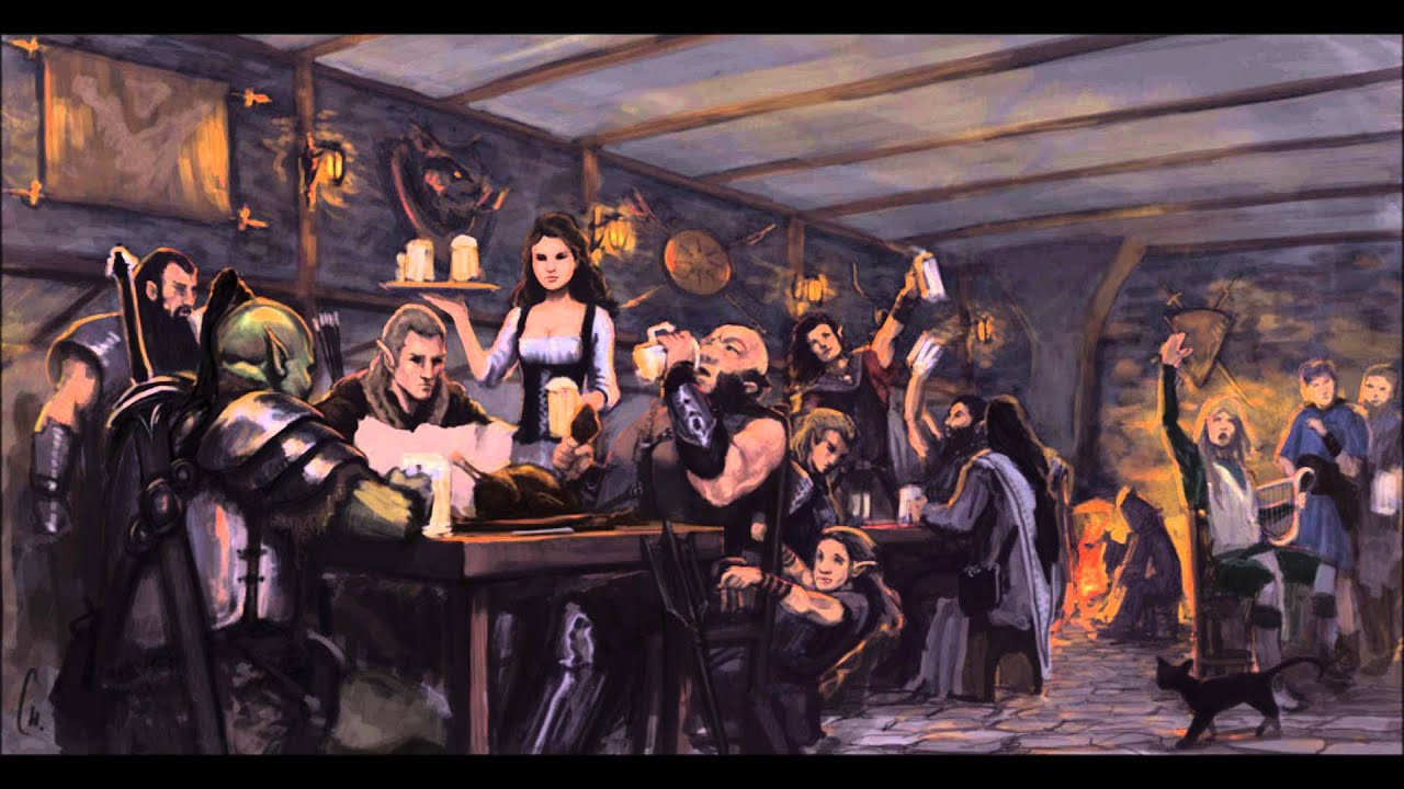 Medieval Tavern Ambience (with music) - YouTube