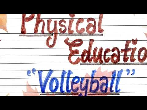 Class11 and 12th Physical Education File | Volleyball & Yoga