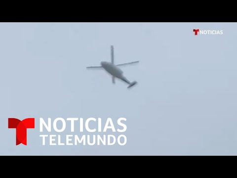 Publican o vídeo do helicóptero de Kobe Bryant antes do accidente