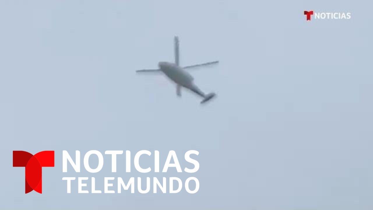 Publican supuesto video del helicóptero de Kobe Bryant antes del accidente | Noticias Telemundo