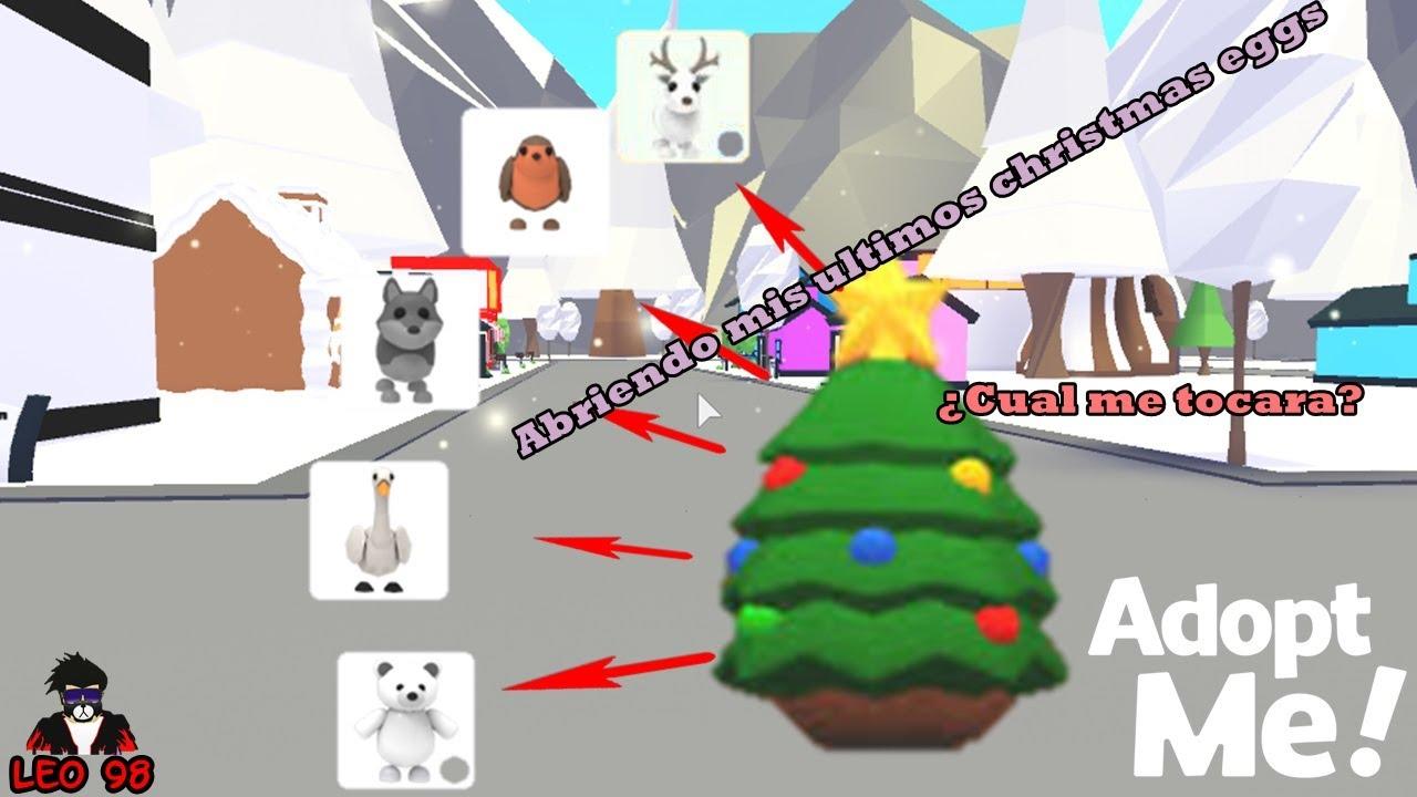 ABRIENDO mis ÚLTIMOS HUEVOS DE NAVIDAD (CHRISTMAS EGGS) en ¡ADOPT ME! - ROBLOX - YouTube