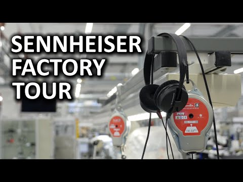 Sennheiser Factory Tour - Hanover, Germany
