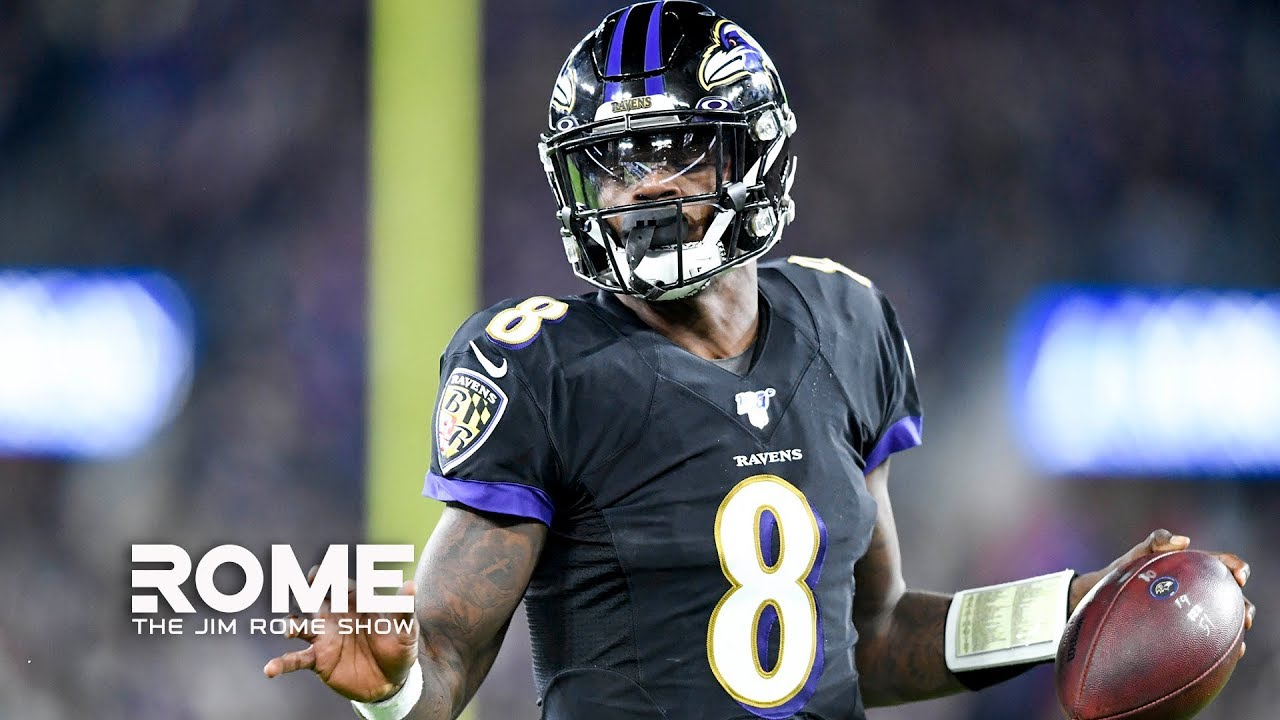 Image result for Lamar Jackson Blasts The Pats, Jermaine Whitehead Goes Mad, NFL Week 9 Recap | The Jim Rome Show