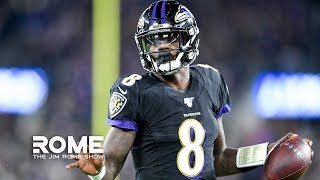 Lamar Jackson Blasts The Pats, Jermaine Whitehead Goes Mad, NFL Week 9 Recap | The Jim Rome Show
