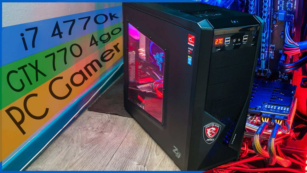tuto montage pc gamer i7 4770k msi z87 g43 gaming. Black Bedroom Furniture Sets. Home Design Ideas