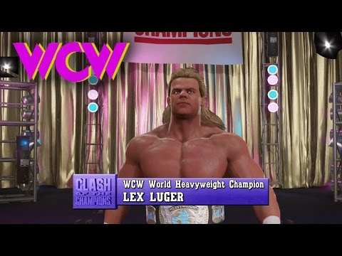 WWE 2K17 - Early WCW   Custom Music & Attires
