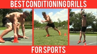 BEST Conditioning Drills for Sports like Football, Basketball, Baseball & Soccer