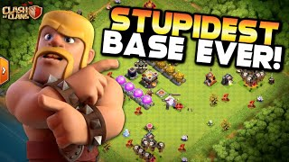 STUPIDEST BASE EVER! Fix that Engineer ep49 | Clash of Clans