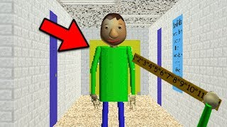 How To PLAY AS BALDI in Baldis Basics in Education and Learning