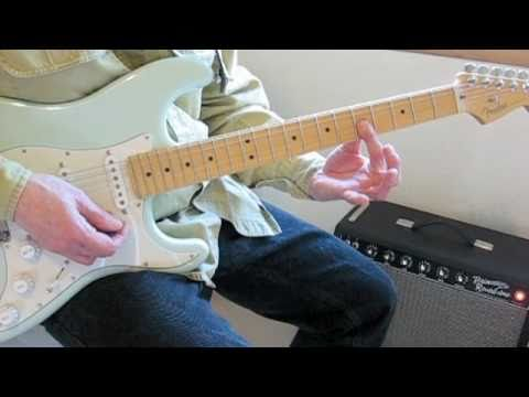 Guitar Lesson: Minor Chords in the Style of Stevie Ray Vaughan