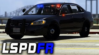 LSPDFR | E45 P1 - First Person Impala Patrol!