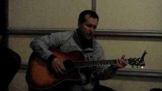 Sean Carter  - New Way To Fly   Garth Brooks Cover Acoustic  Country Brew Crew
