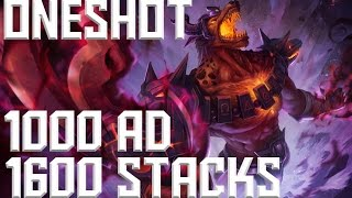 1000 AD 1600 STACKS Nasus ONESHOT [German|HD]