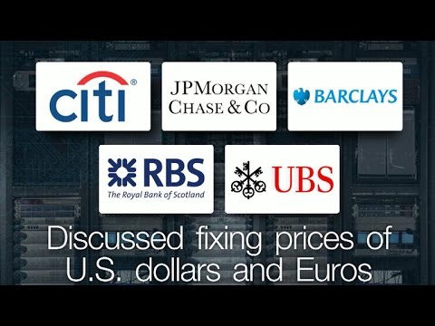 World's largest banks plead guilty to price fixing