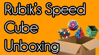 rubik s speed cube jigsaw puzzle unboxing