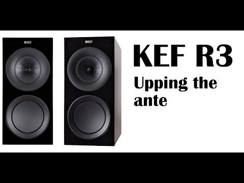 KEF R3 speaker review spoiler alert. it's really good - YouTube