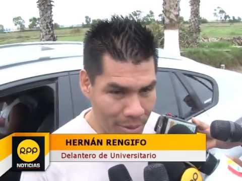 Hernán Rengifo   Juan Vargas es un ejemplo para los jóvenes de Universitario