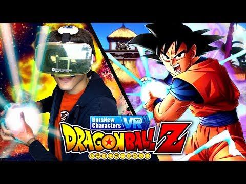 GOKU NELLA VITA REALE! DRAGON BALL Z VR! Dragon Ball Super VR Gameplay ITA By GiosephTheGamer